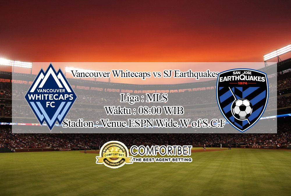 Prediksi Bola Vancouver Whitecaps vs SJ Earthquakes 16 Juli 2020