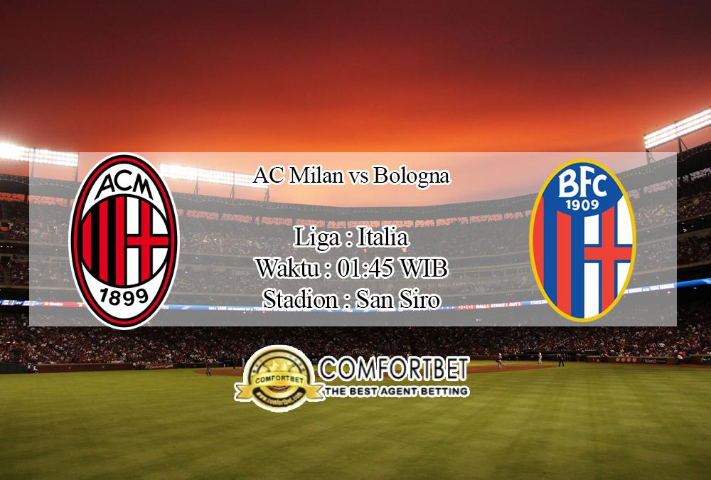 Prediksi Bola AC Milan Vs Bologna 22 September 2020