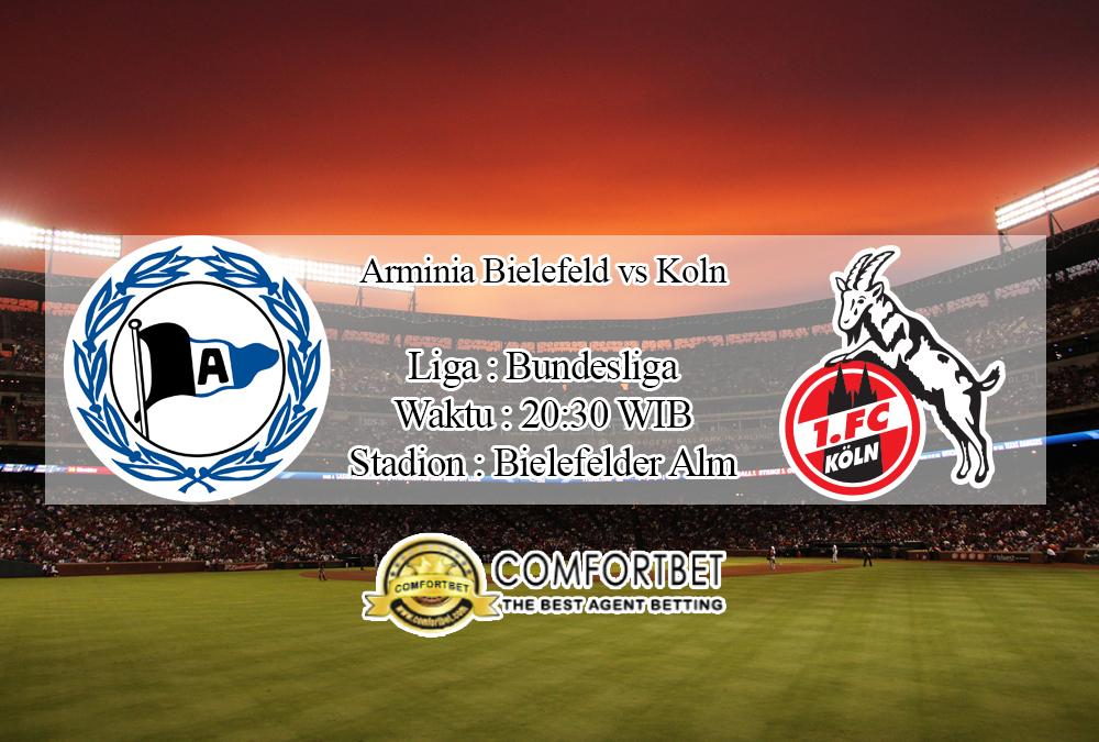 Prediksi Bola Arminia Bielefeld Vs Koln 26 September 2020