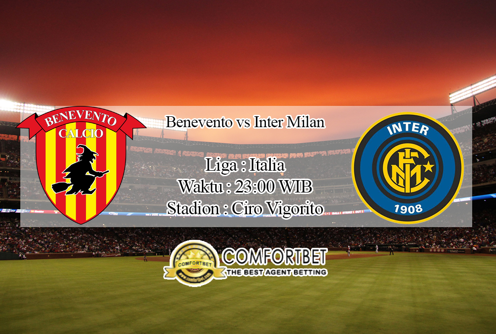Prediksi Bola Benevento Vs Inter Milan 30 September 2020