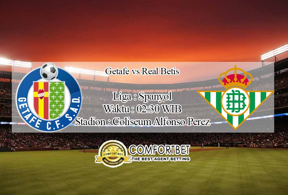 Prediksi Bola Getafe vs Real Betis 30 September 2020
