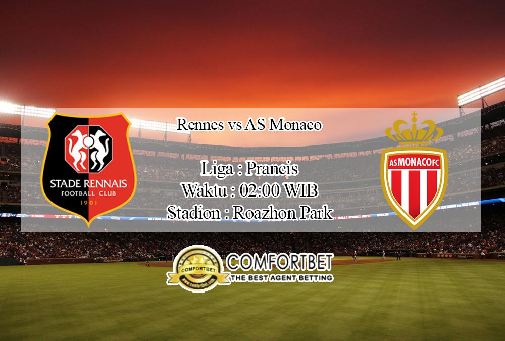 Prediksi Bola Rennes Vs AS Monaco 20 September 2020