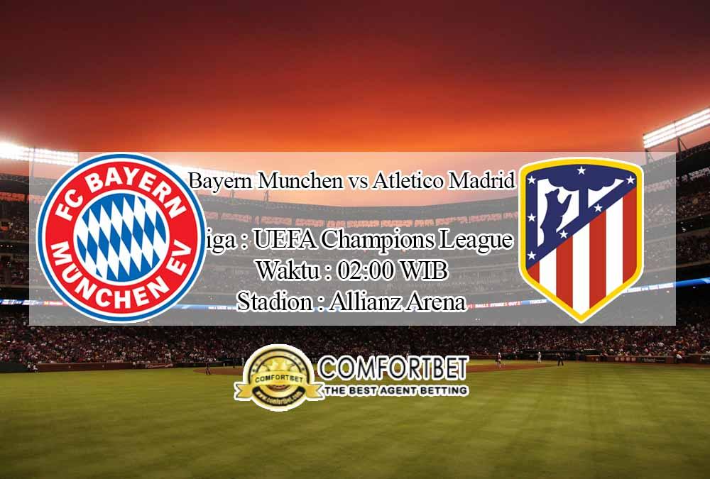 Prediksi Skor Bayern Munchen vs Atletico Madrid 22 Oktober 2020