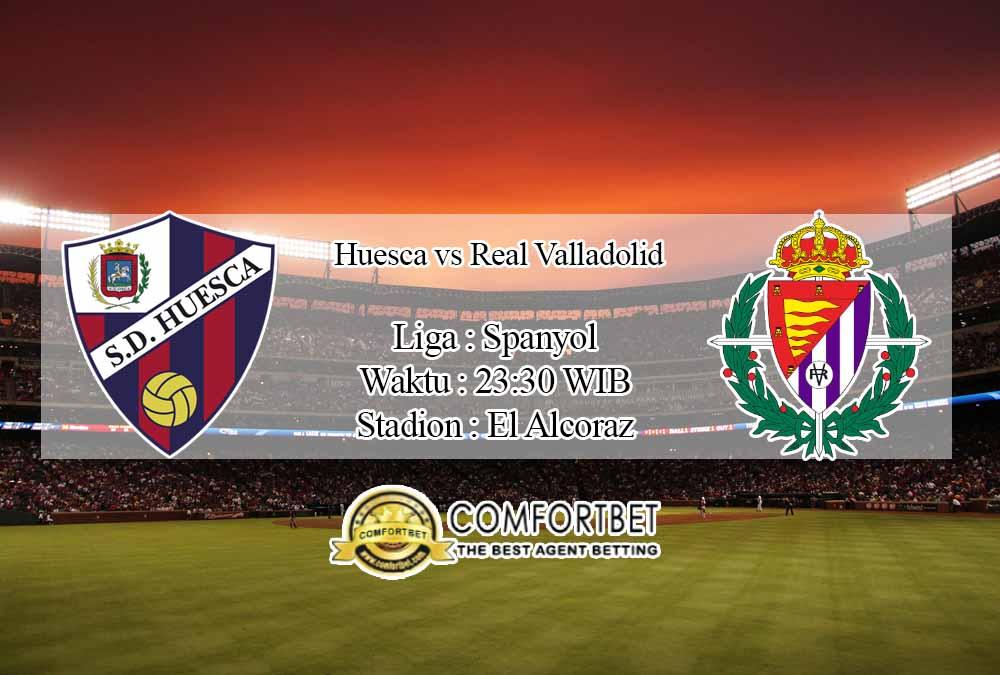 Prediksi Skor Huesca vs Real Valladolid 18 Oktober 2020