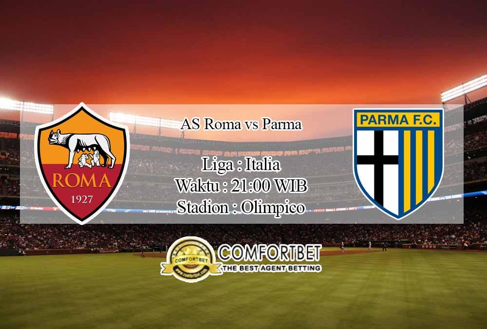 Prediksi Skor AS Roma vs Parma 22 November 2020