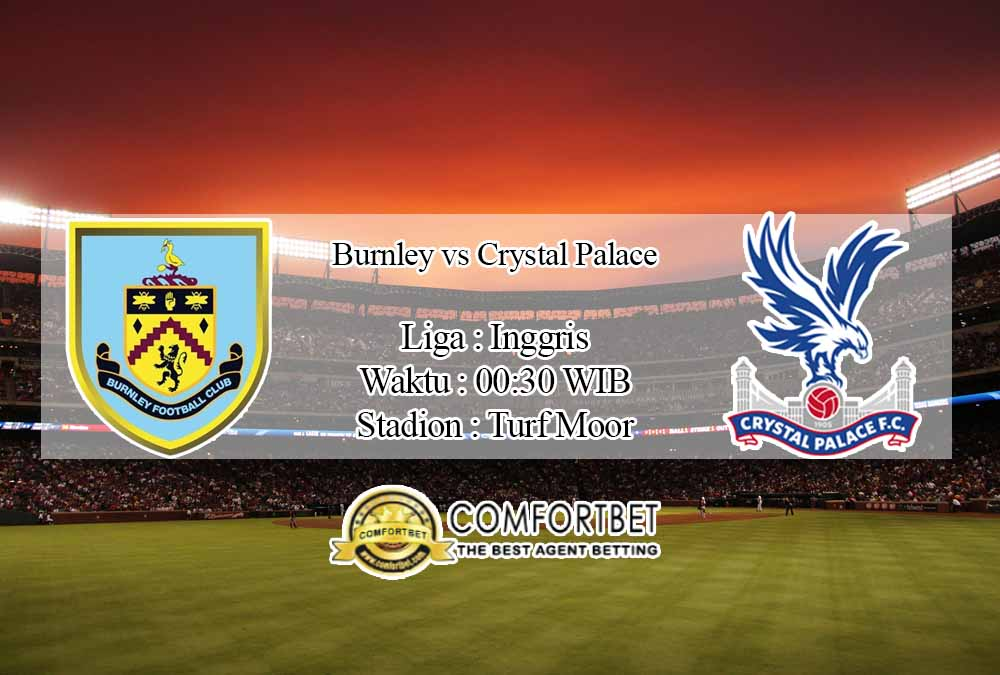 Prediksi Skor Burnley vs Crystal Palace 24 November 2020