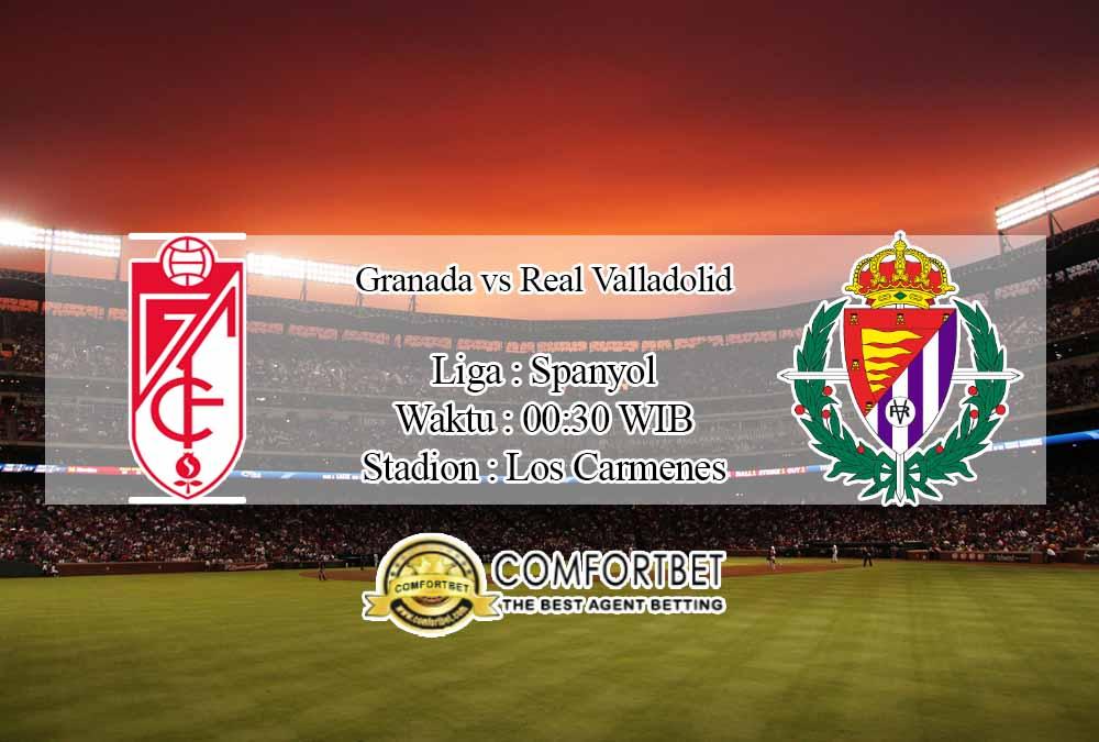 Prediksi Skor Granada vs Real Valladolid 23 November 2020