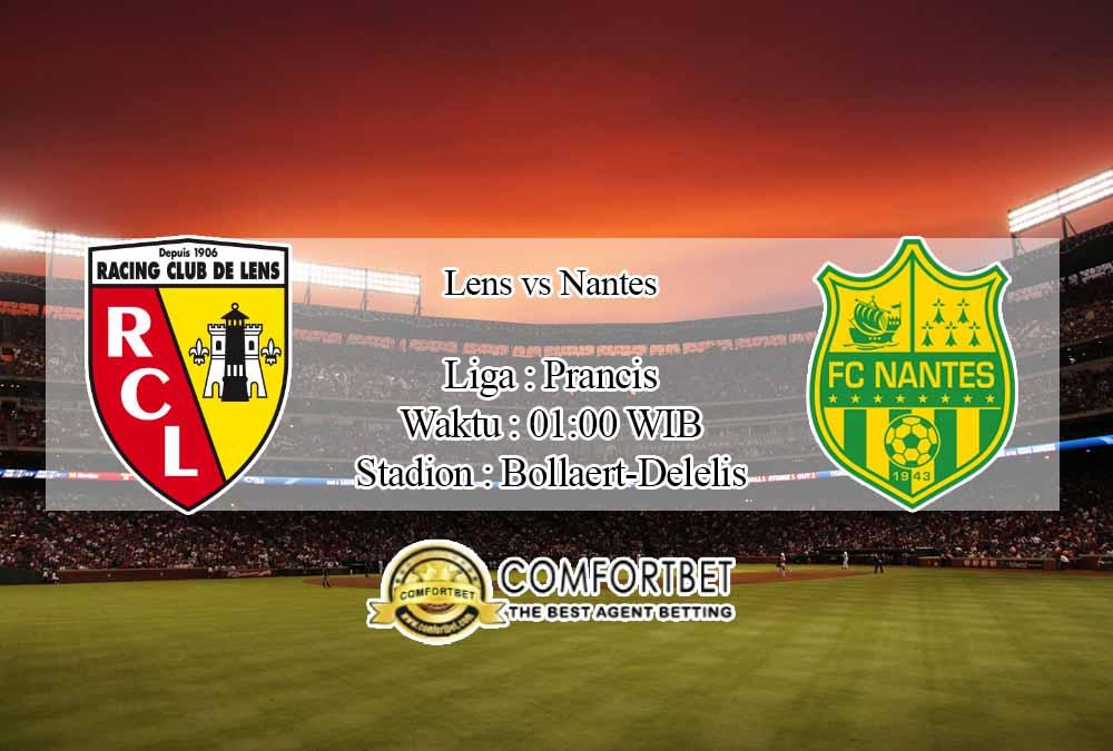 Prediksi Skor Lens vs Nantes 26 November 2020
