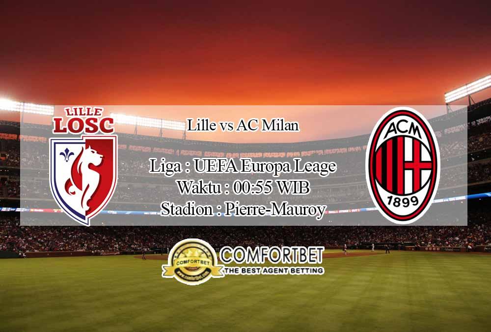 Prediksi Skor Lille vs AC Milan 27 November 2020