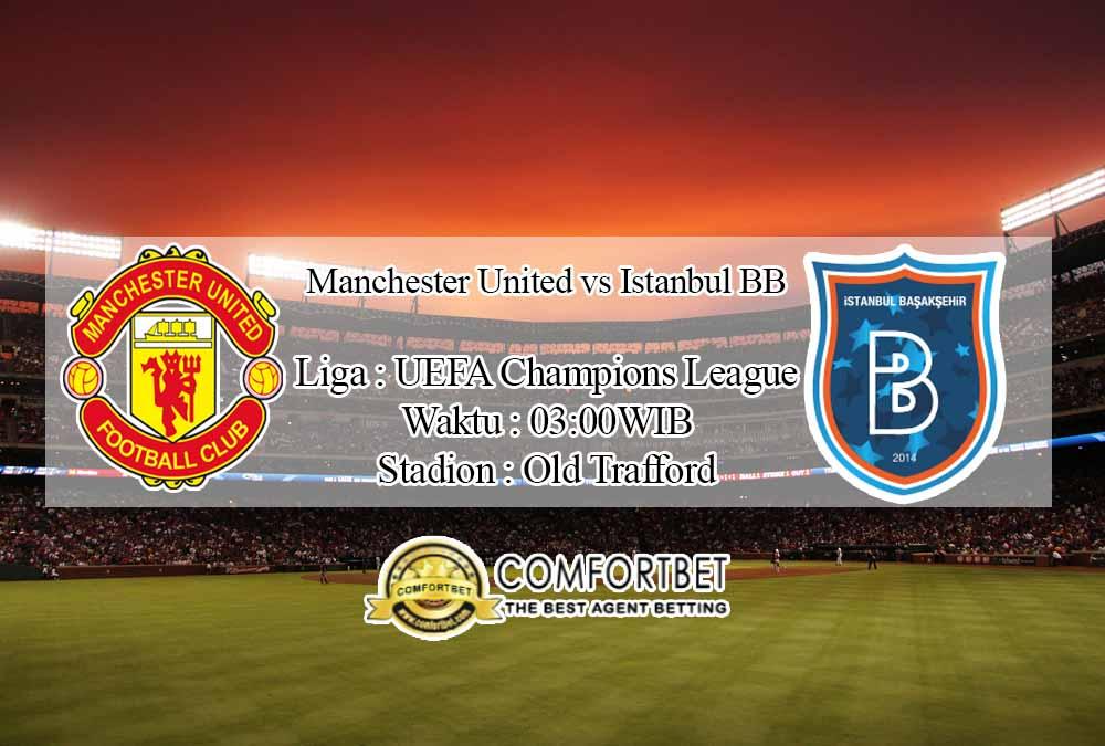 Prediksi Skor Manchester United vs Istanbul BB 25 November 2020