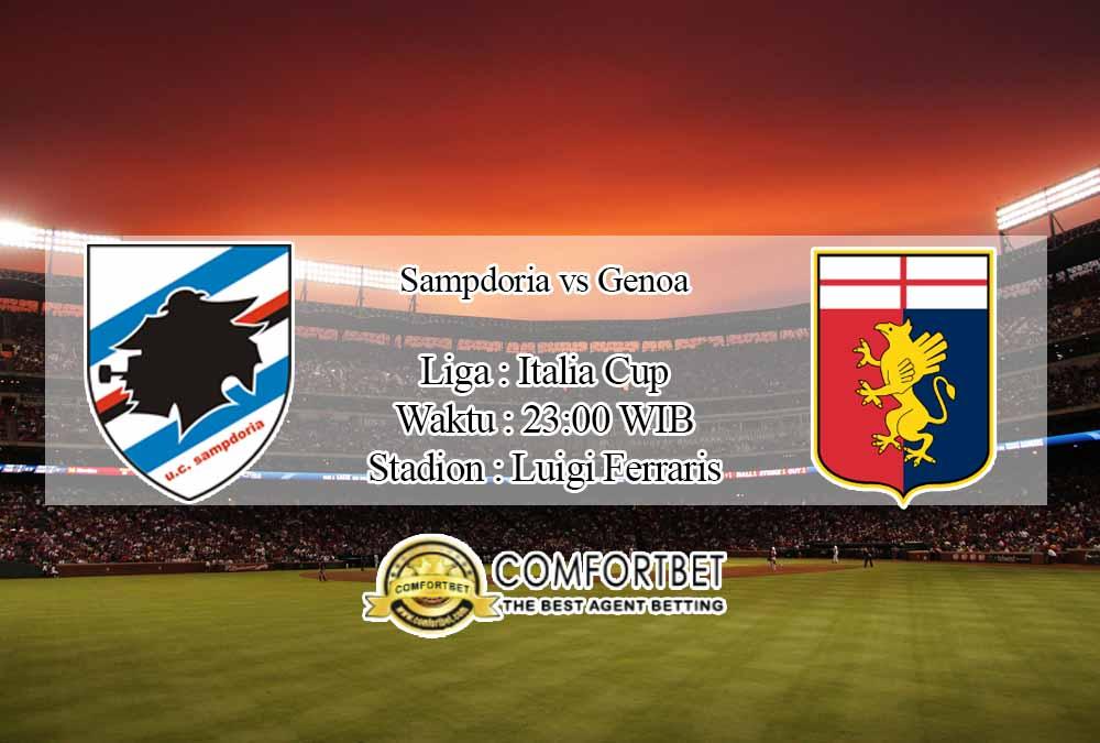Prediksi Skor Sampdoria vs Genoa 26 November 2020