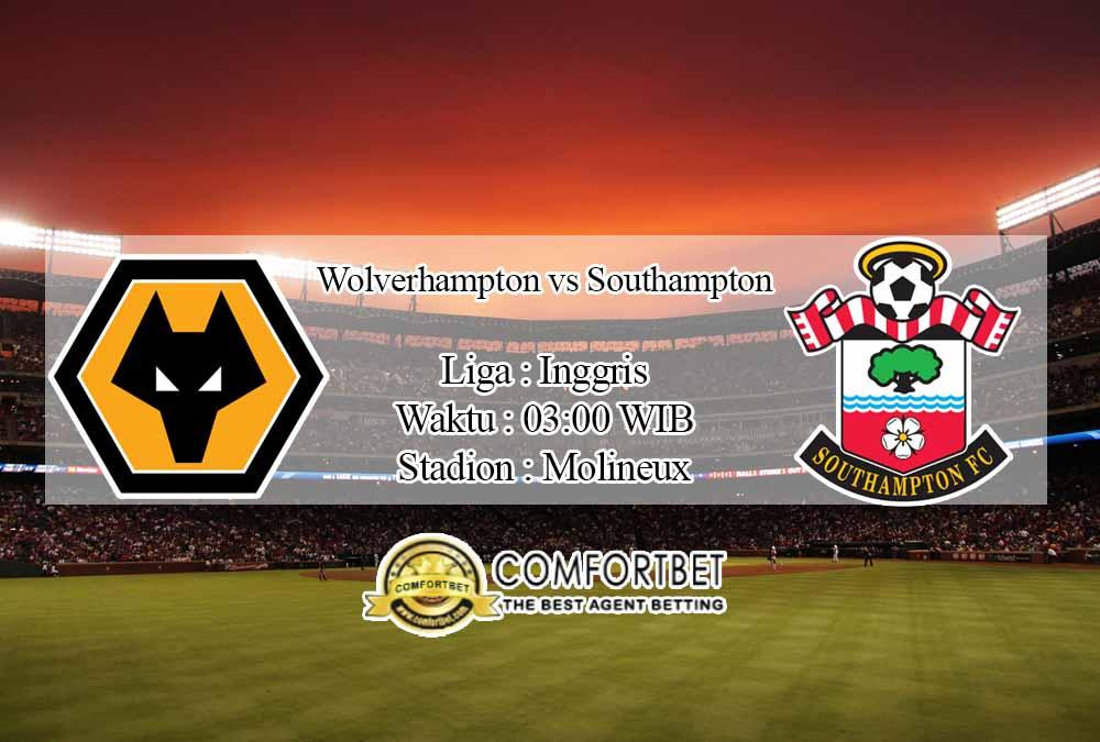 Prediksi Skor Wolverhampton Wanderers vs Southampton 24 November 2020