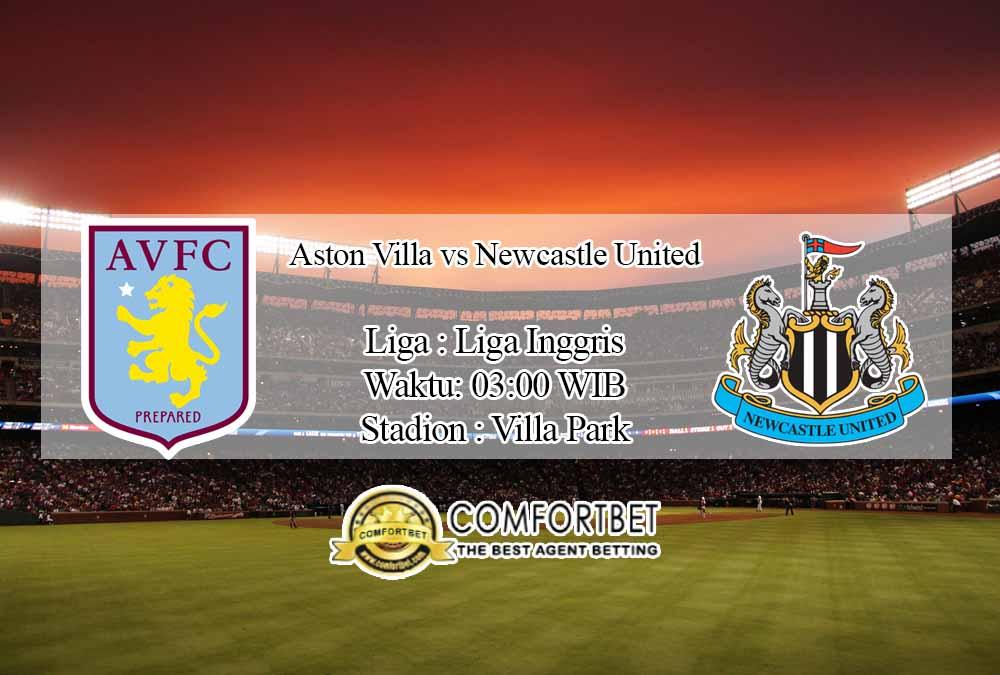 Prediksi Skor Aston Villa vs Newcastle United 5 Desember 2020