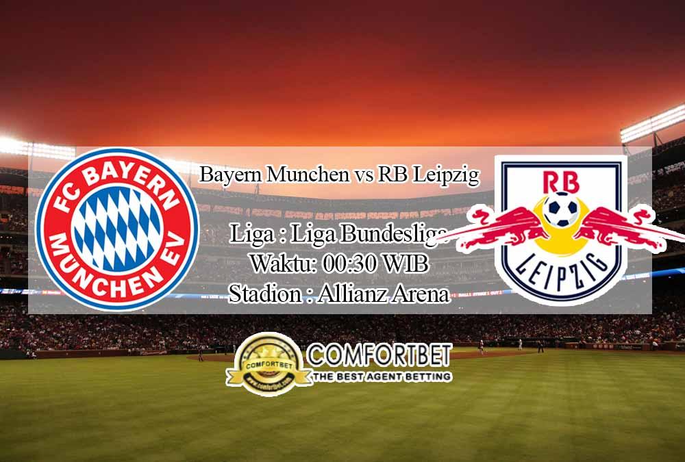 Prediksi Skor Bayern Munchen vs RB Leipzig 6 Desember 2020