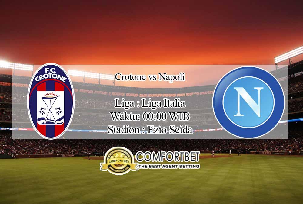 Prediksi Skor Crotone vs Napoli 7 Desember 2020
