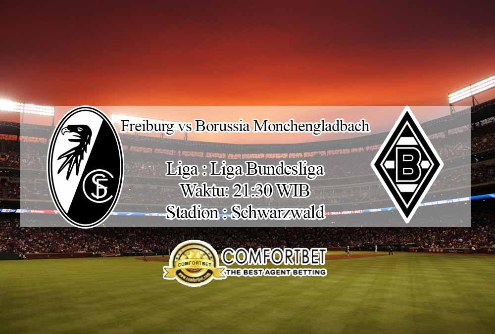 Prediksi Skor Freiburg vs Borussia Monchengladbach 5 Desember 2020