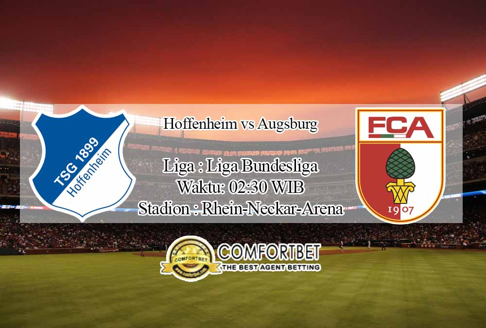 Prediksi Skor Hoffenheim vs Augsburg 8 Desember 2020