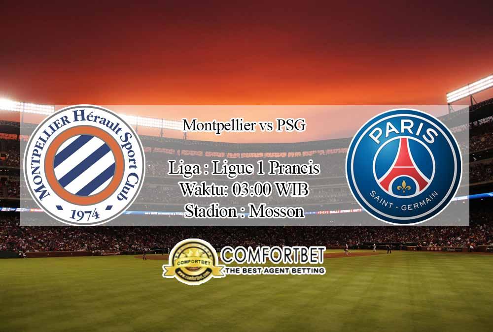 Prediksi Skor Montpellier vs PSG 6 Desember 2020